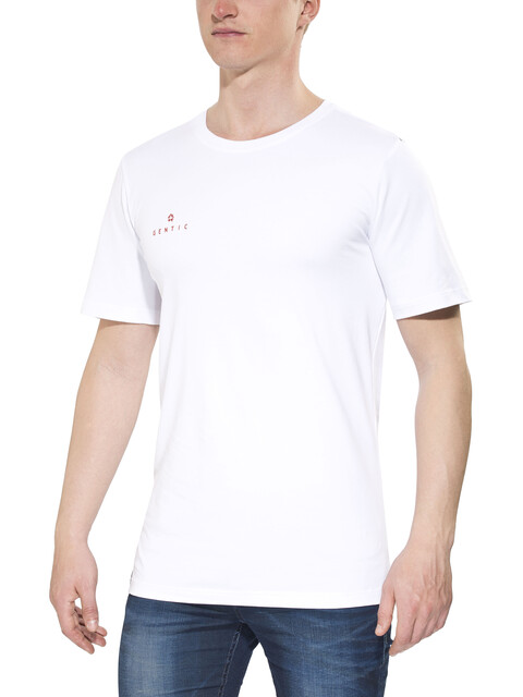 Gentic New School - T-shirt manches courtes Homme - blanc